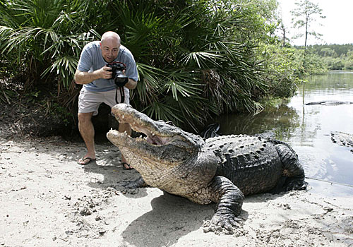 Me with Gator s